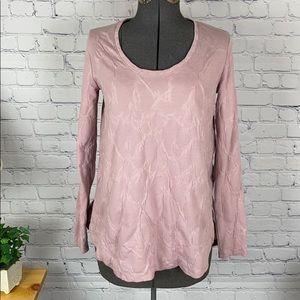 Simply Vera Vera Wang long sleeve blouse small